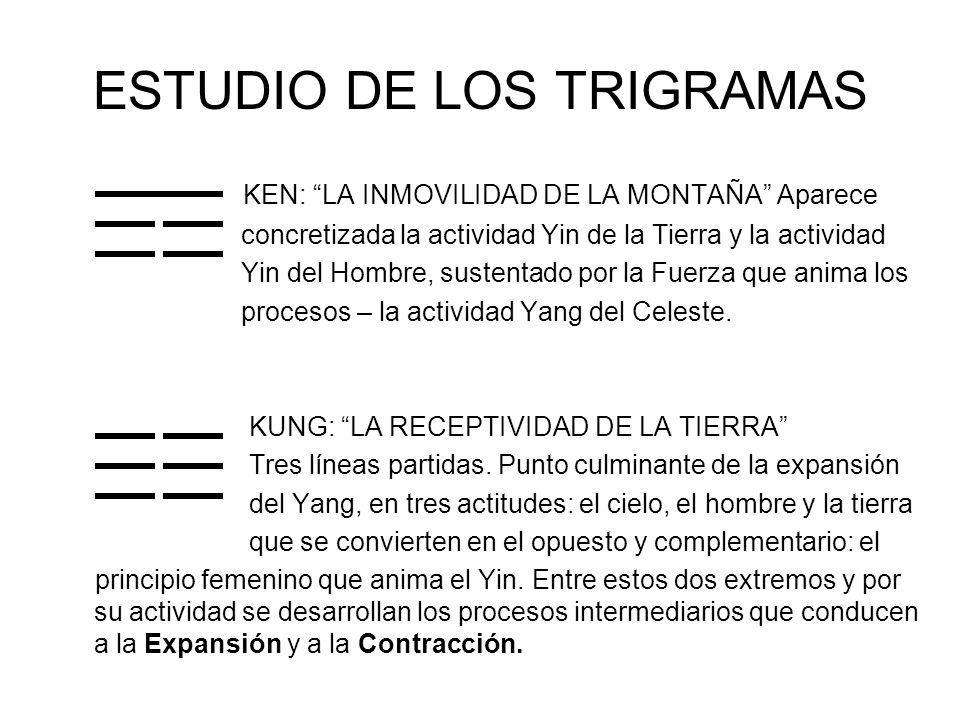 ESTUDIO DE LOS TRIGRAMAS