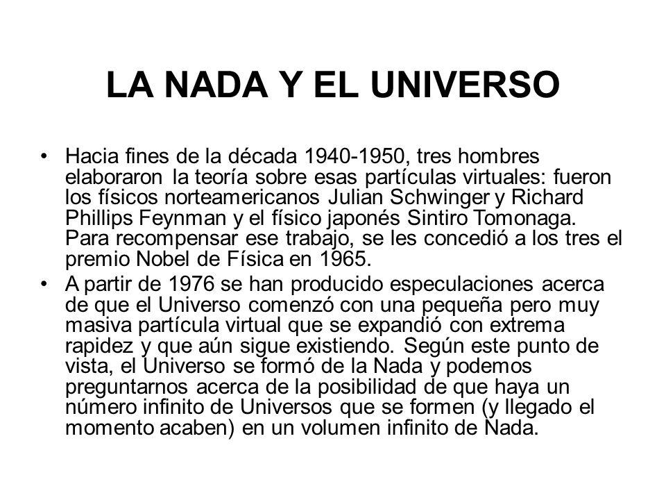 LA NADA Y EL UNIVERSO