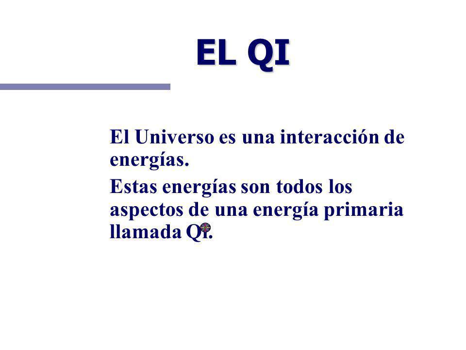 EL QI El Universo es una interacción de energías.