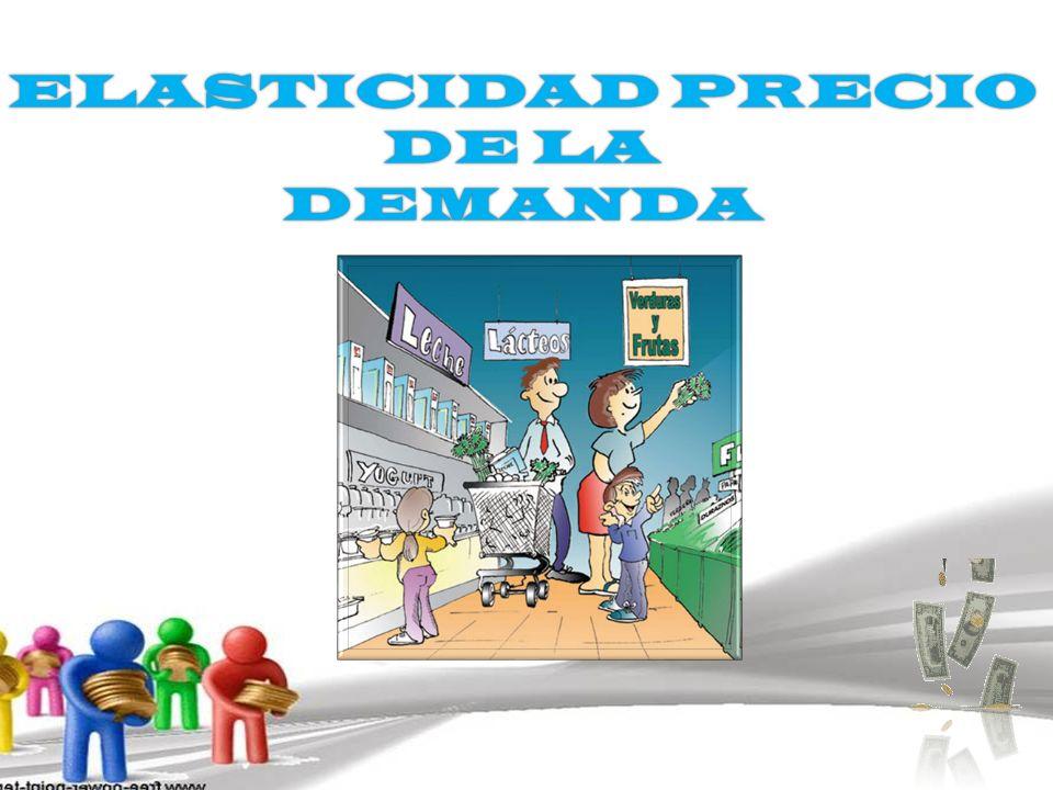ELASTICIDAD PRECIO DE LA DEMANDA