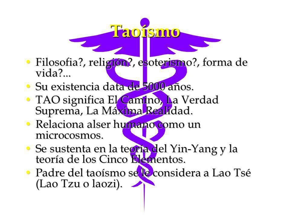 Taoísmo Filosofia , religión , esoterismo , forma de vida ...