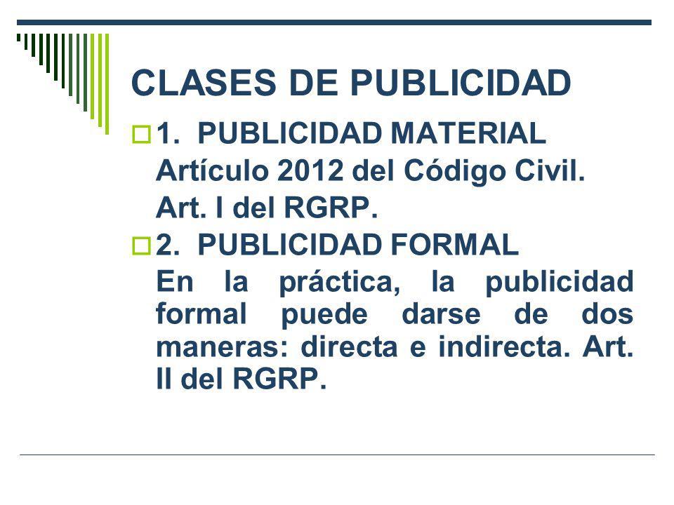 CLASES DE PUBLICIDAD 1. PUBLICIDAD MATERIAL