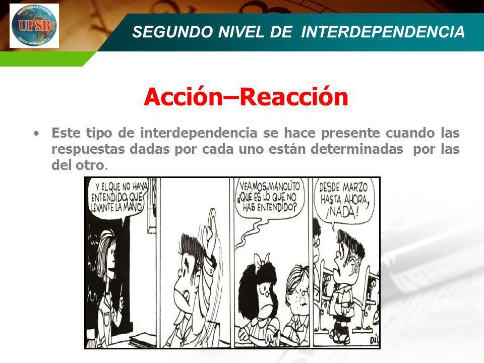 SEGUNDO NIVEL DE INTERDEPENDENCIA