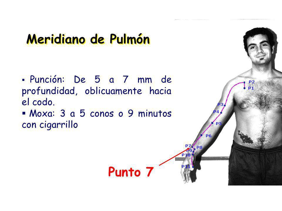 Meridiano de Pulmón Punto 7