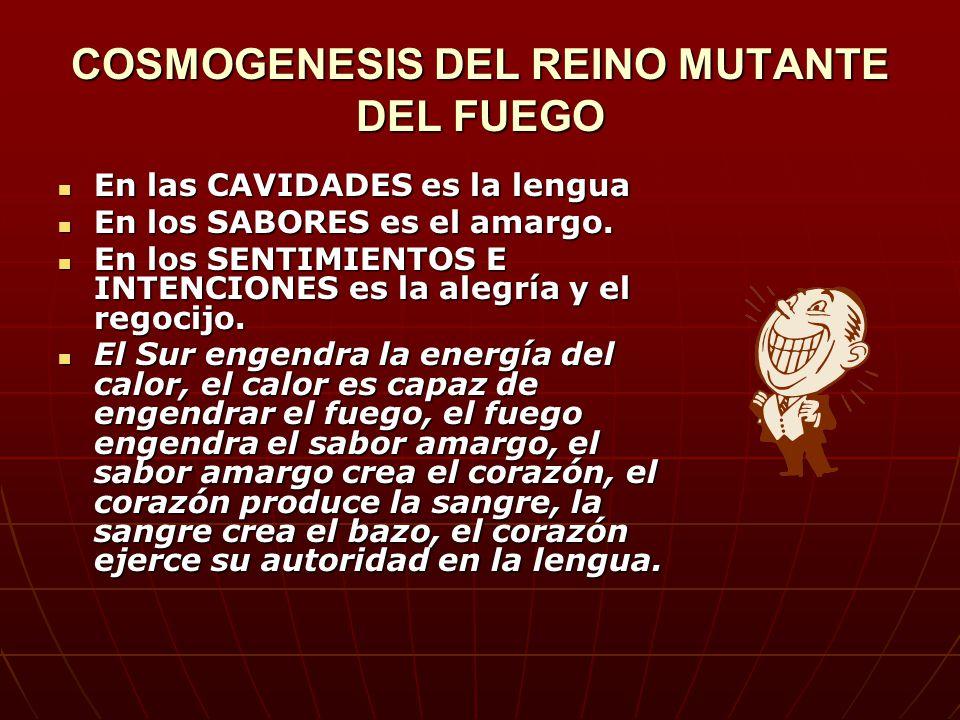 COSMOGENESIS DEL REINO MUTANTE DEL FUEGO
