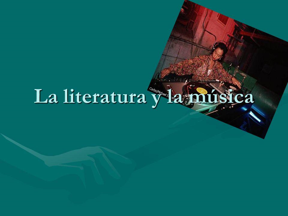 La literatura y la música