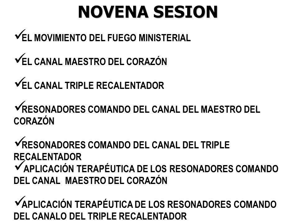 NOVENA SESION EL MOVIMIENTO DEL FUEGO MINISTERIAL
