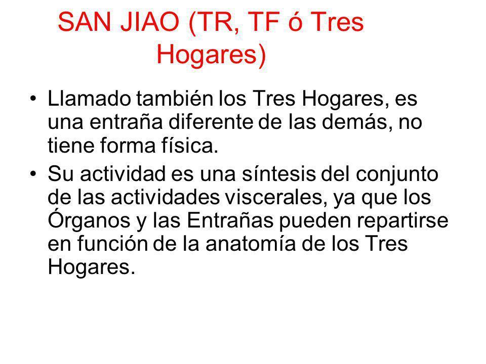 SAN JIAO (TR, TF ó Tres Hogares)