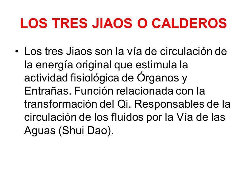 LOS TRES JIAOS O CALDEROS
