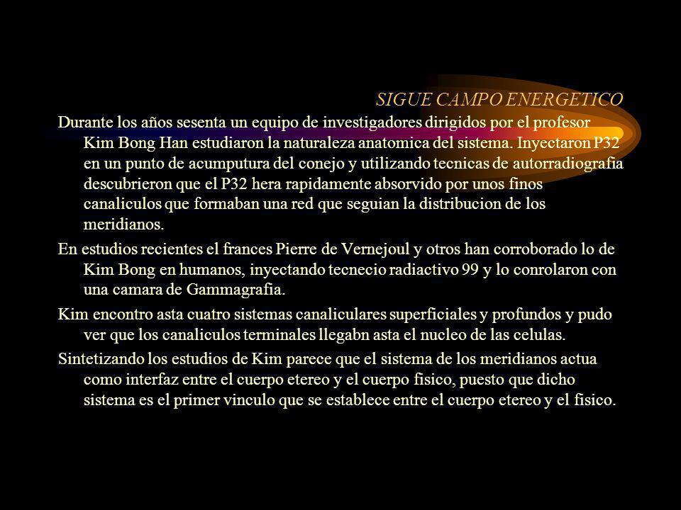 SIGUE CAMPO ENERGETICO
