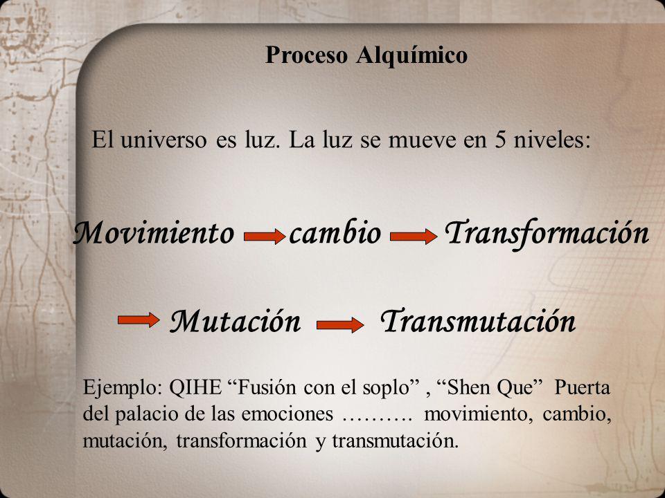 Mutación Transmutación