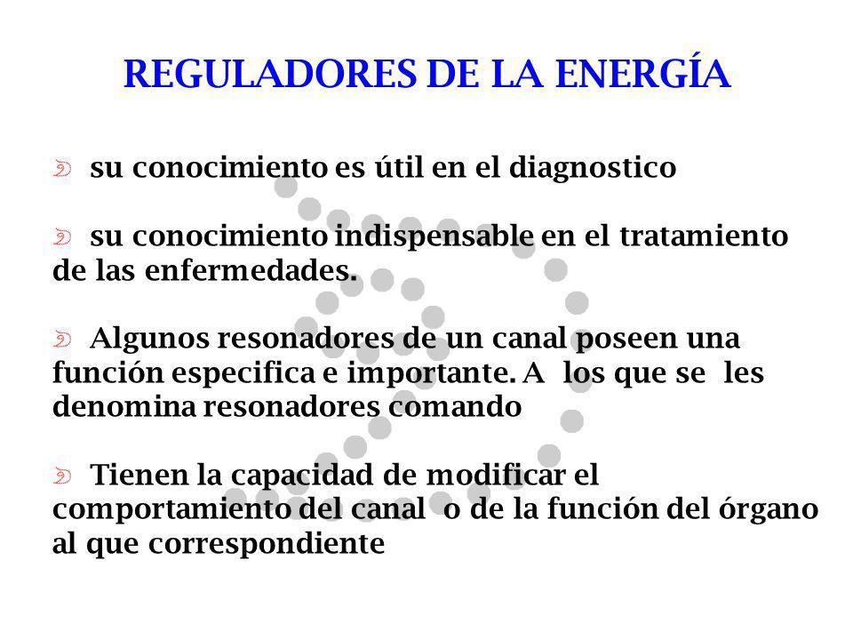 REGULADORES DE LA ENERGÍA