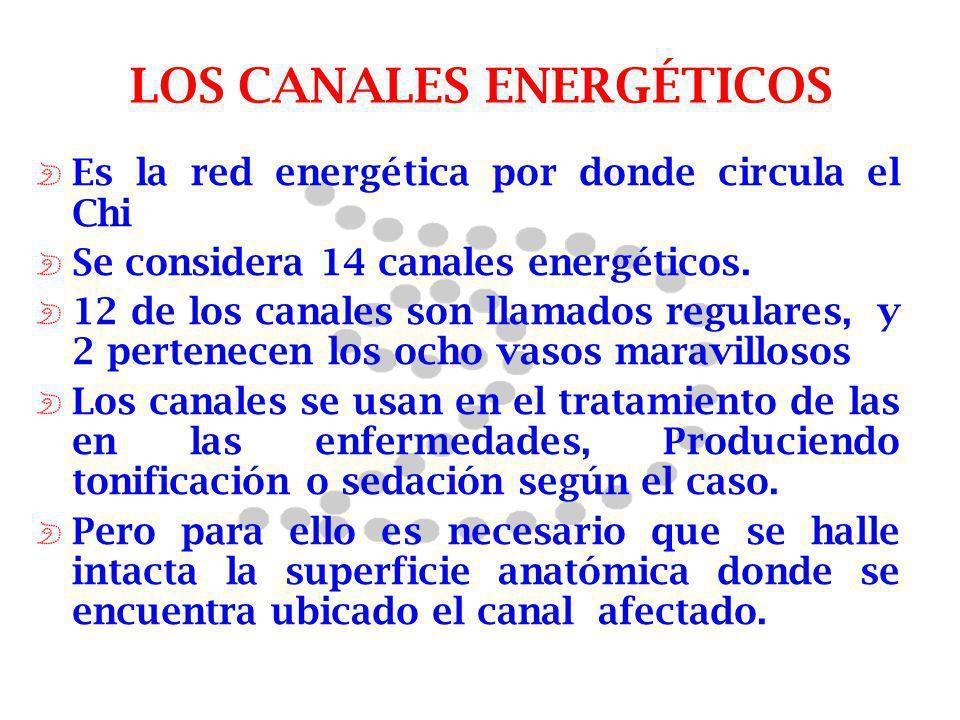 LOS CANALES ENERGÉTICOS