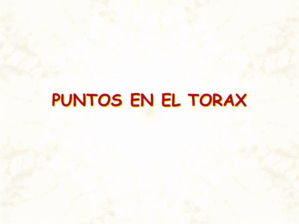 PUNTOS EN EL TORAX