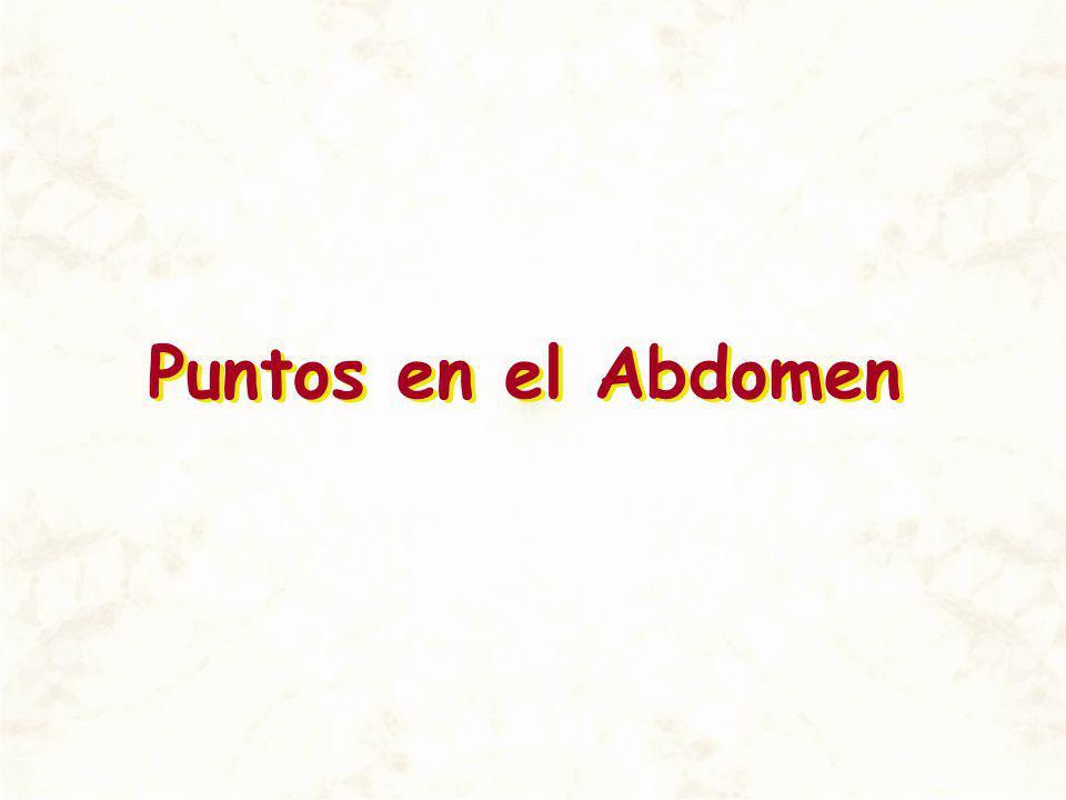 Puntos en el Abdomen