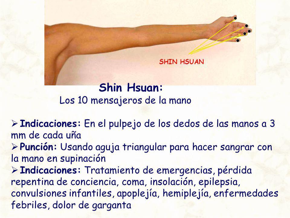 Shin Hsuan: Los 10 mensajeros de la mano