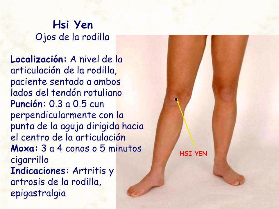 Hsi Yen Ojos de la rodilla