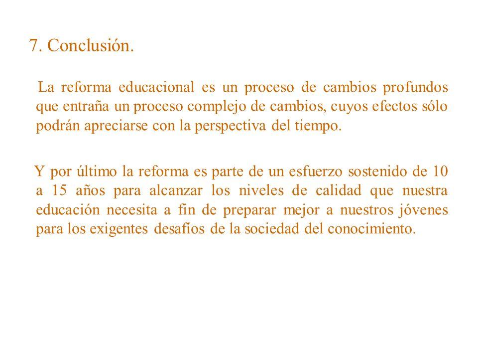 7. Conclusión.