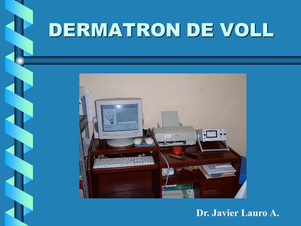 DERMATRON DE VOLL Dr. Javier Lauro A.
