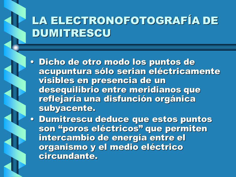 LA ELECTRONOFOTOGRAFÍA DE DUMITRESCU