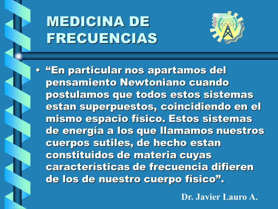 MEDICINA DE FRECUENCIAS