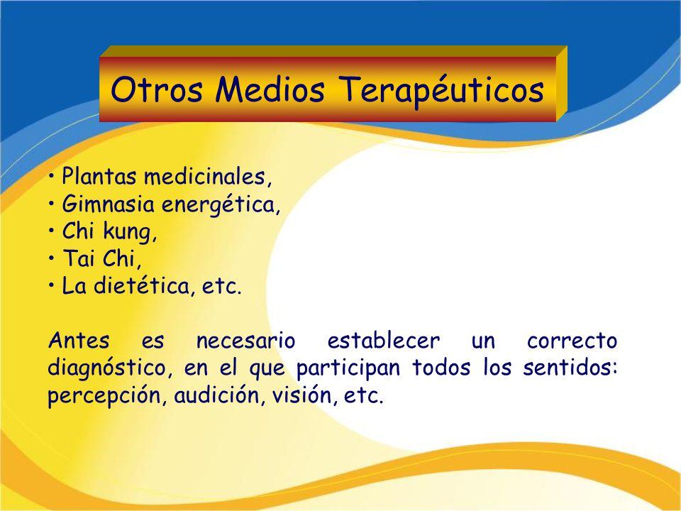 Otros Medios Terapéuticos