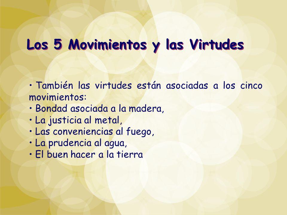 Los 5 Movimientos y las Virtudes