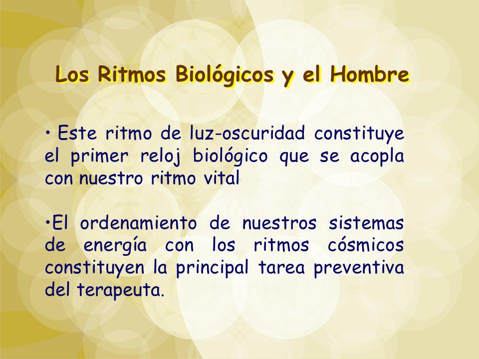 Los Ritmos Biológicos y el Hombre