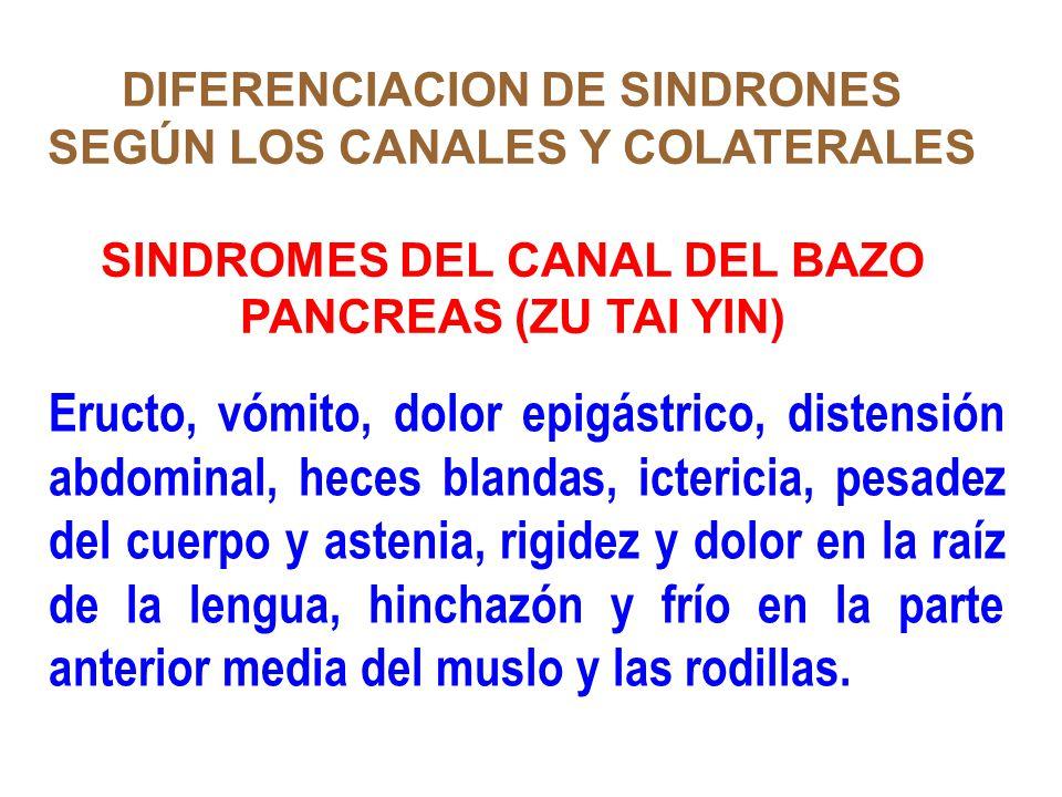 DIFERENCIACION DE SINDRONES