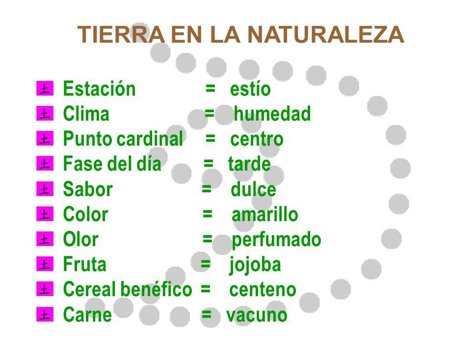 TIERRA EN LA NATURALEZA