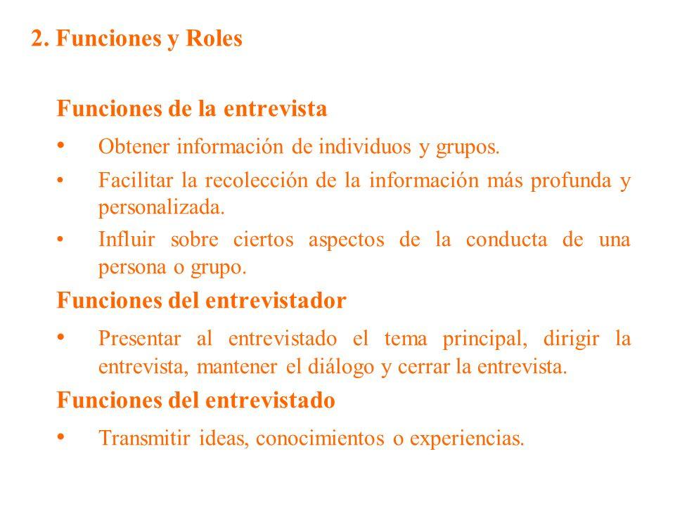 • Obtener información de individuos y grupos.