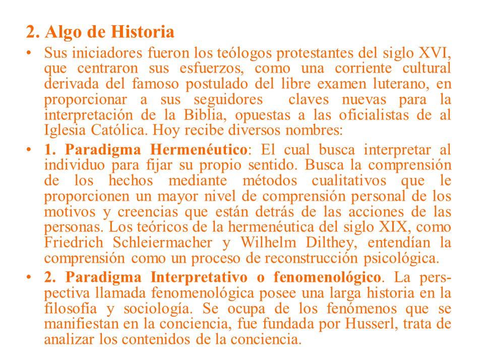 2. Algo de Historia