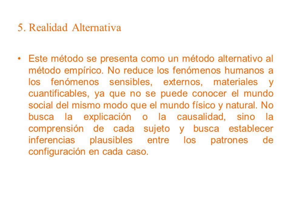 5. Realidad Alternativa