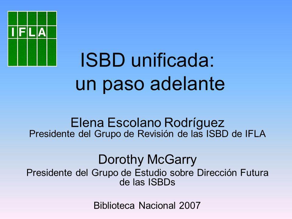 ISBD unificada: un paso adelante