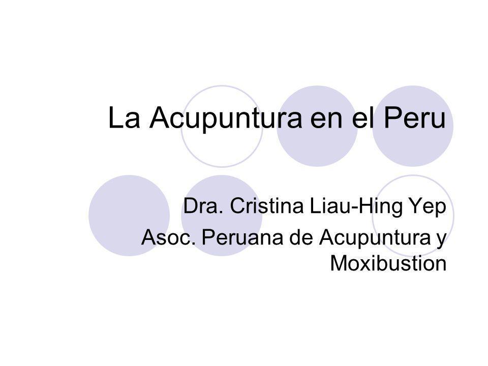 La Acupuntura en el Peru