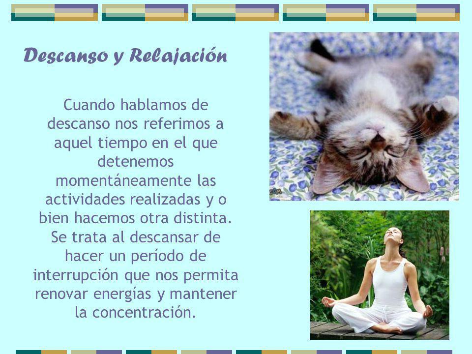 Descanso y Relajación