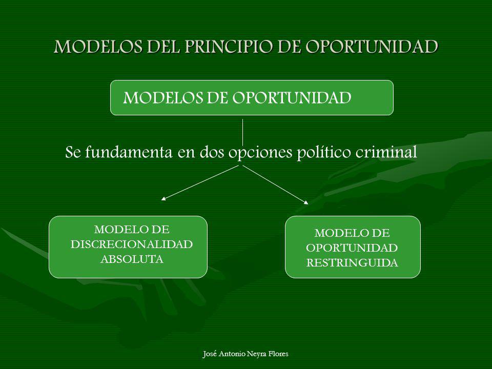 MODELOS DEL PRINCIPIO DE OPORTUNIDAD