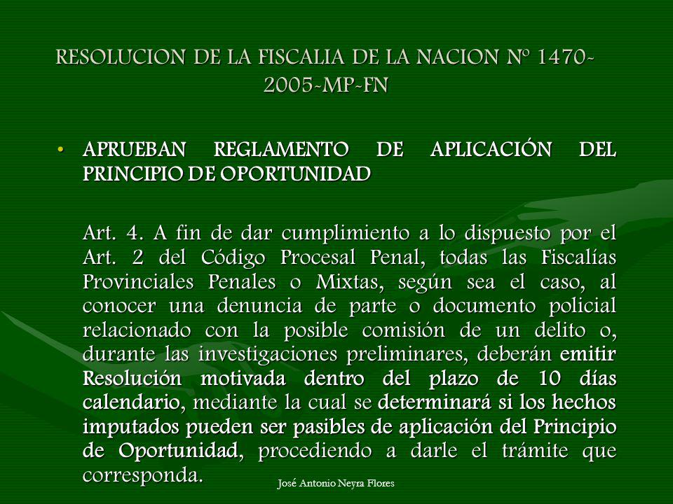 RESOLUCION DE LA FISCALIA DE LA NACION Nº 1470-2005-MP-FN