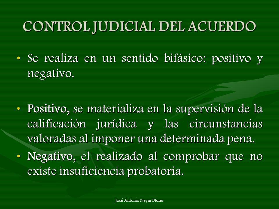 CONTROL JUDICIAL DEL ACUERDO