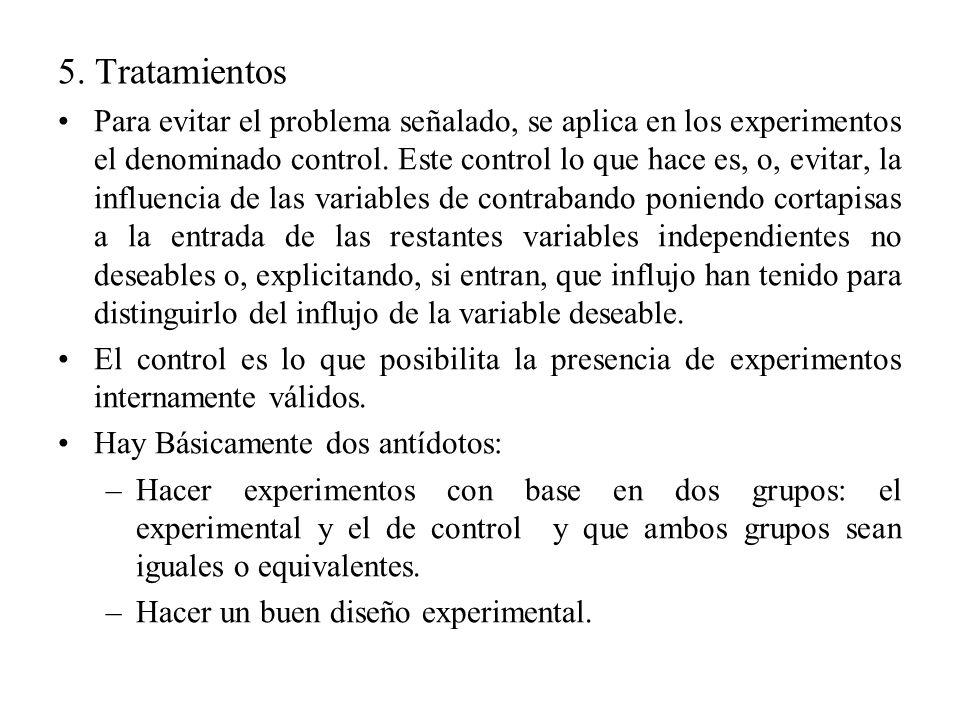 5. Tratamientos