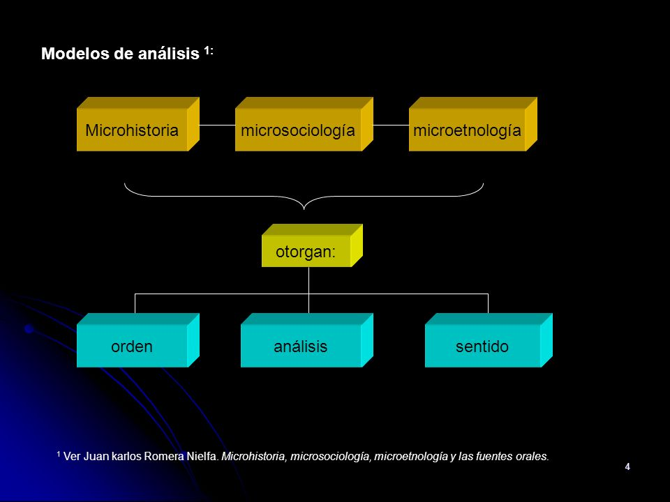 Modelos de análisis 1: Microhistoria microsociología microetnología