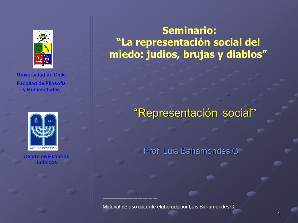 Representación social