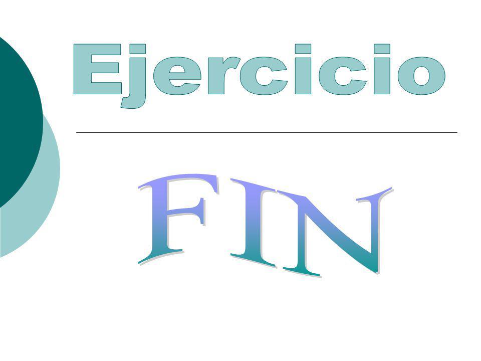 Ejercicio FIN