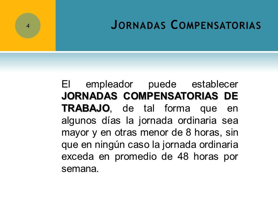 Jornadas Compensatorias