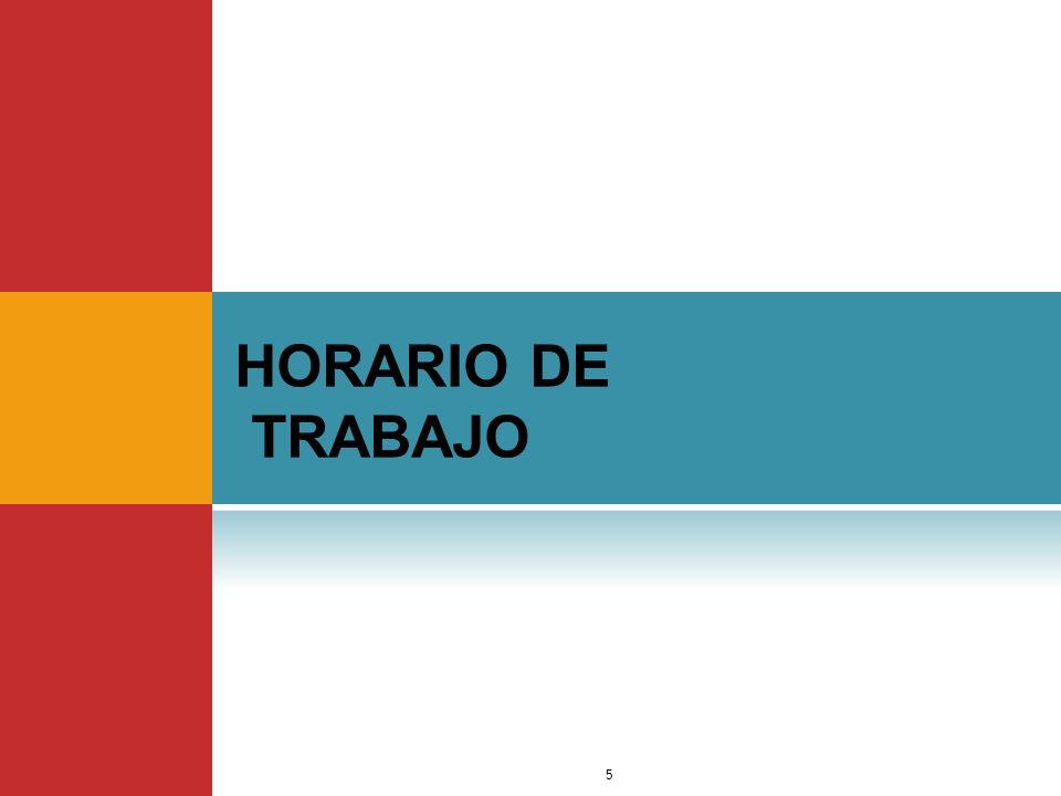 HORARIO DE TRABAJO Dr. Jimmy Márquez Moreno