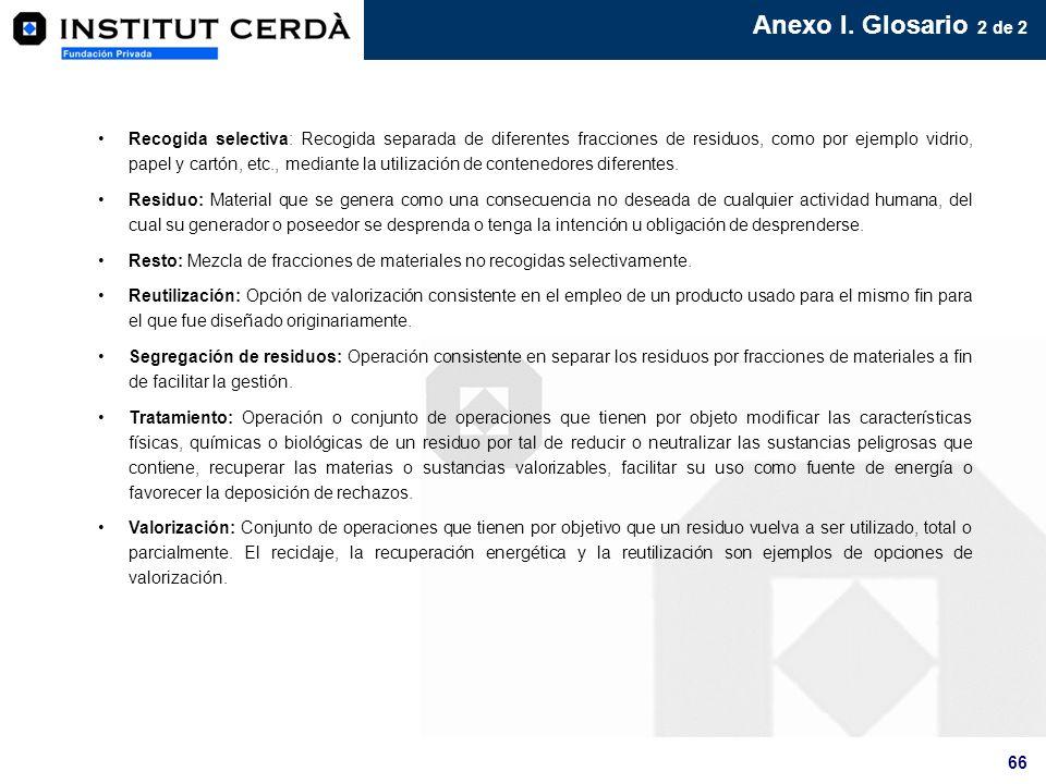 Anexo I. Glosario 2 de 2