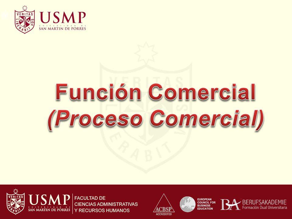 Función Comercial (Proceso Comercial)