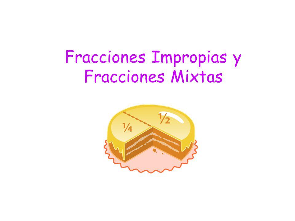Fracciones Impropias y