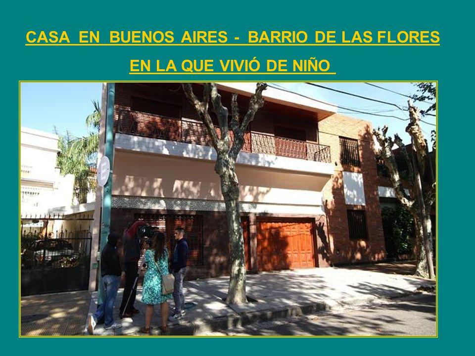CASA EN BUENOS AIRES - BARRIO DE LAS FLORES