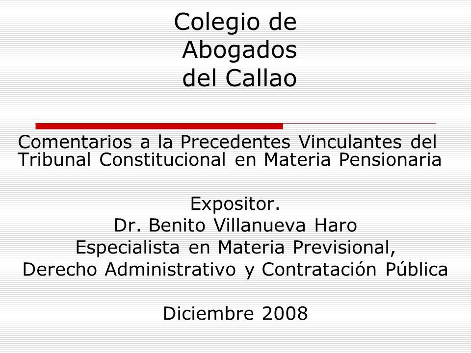 Colegio de Abogados del Callao